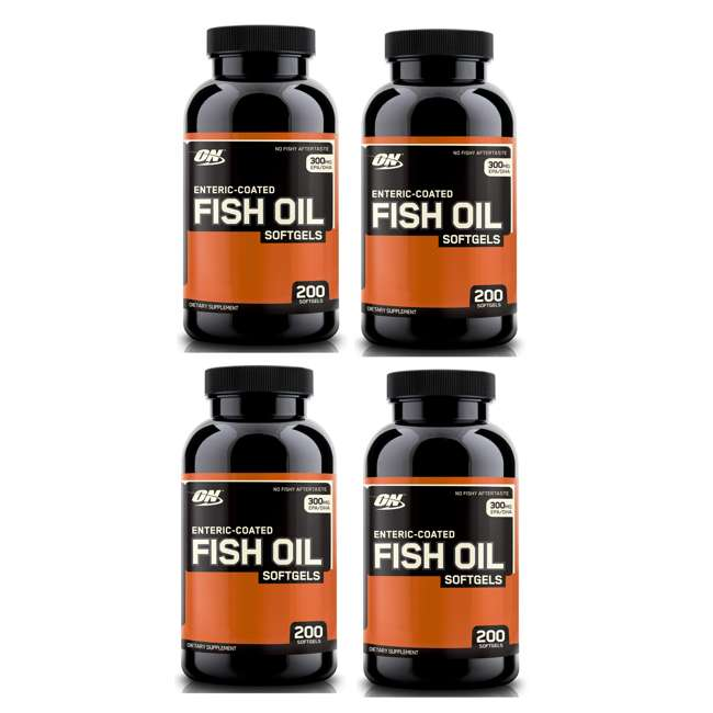 4 bottles optimum nutrition 200 omega 3 mercury free fish