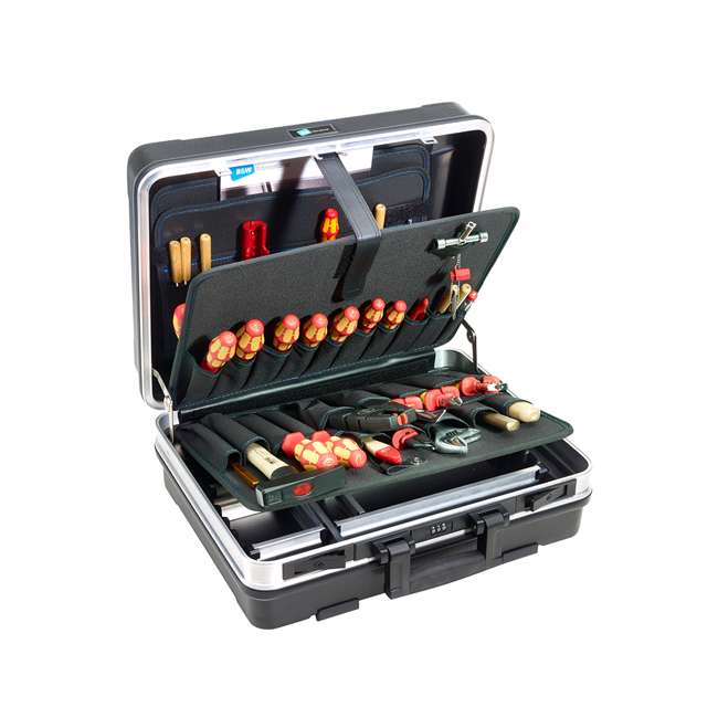 120.02/P B&W International 120.02/P Profi Base Plastic Portable Tool Box Organizer Case 1