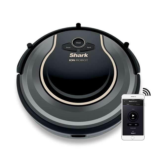 RV750-RB Shark 750 ION Robot Self Propelled Voice Control Vacuum (Certified Refurbished)