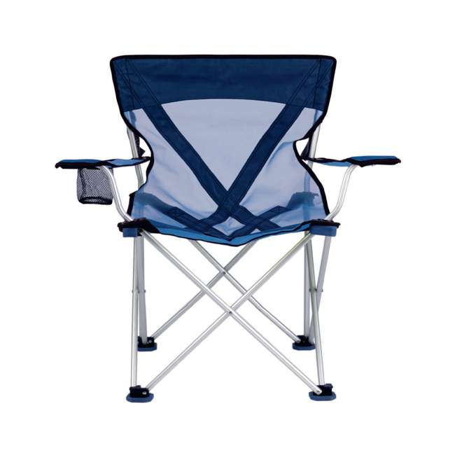 579VB TravelChair 579V Teddy Folding Portable Camping Hunting Nylon Mesh Chair, Blue