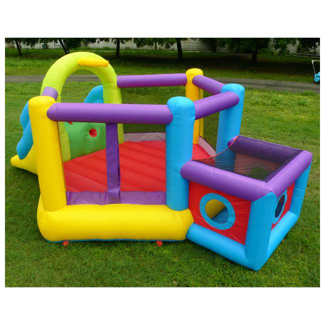 MTI-90947 Magic Time Fort N' Sport Bouncer 3
