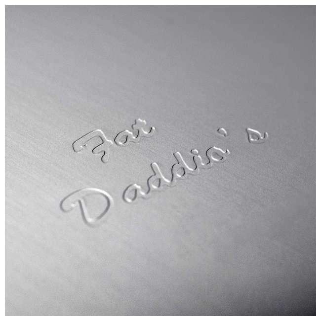 PHA-10 Fat Daddio's PHA-10 10 x 4.75 Inch Size Anodized Aluminum Hemisphere Baking Pan 3
