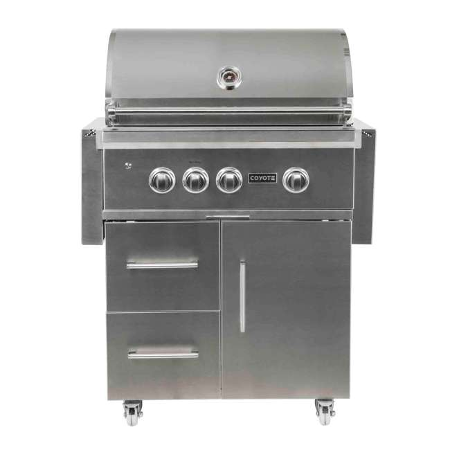 C2SL30NG-FS Coyote C2SL30NG-FS 30 In S Series 700 Sq In Stainless Steel Natural Gas Grill