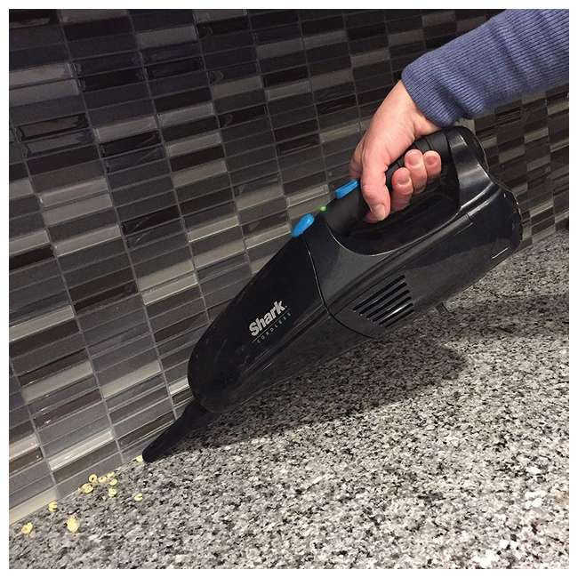 LV901_EGB-RB Shark LV901 Cordless Pet Perfect Handheld Vacuum, Black (Certified Refurbished) 5