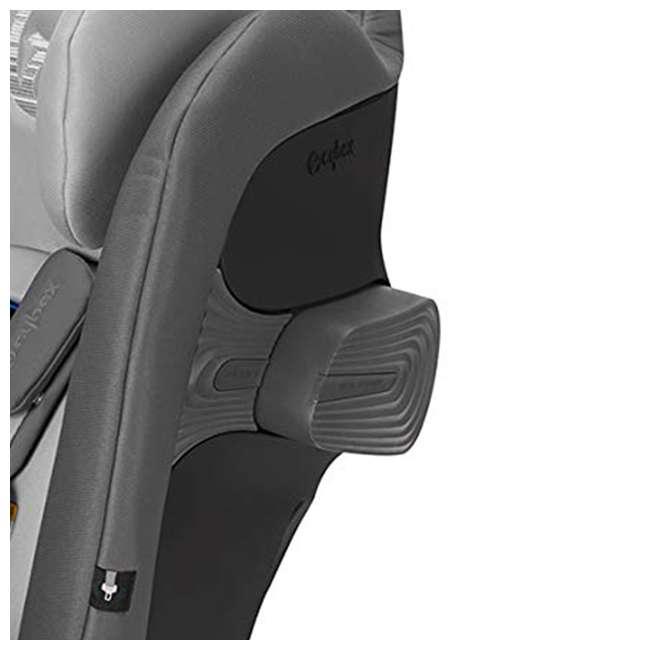 518002881 Cybex Gold Eternis S Convertible Infant Car Seat with SensorSafe Lavastone Black 2
