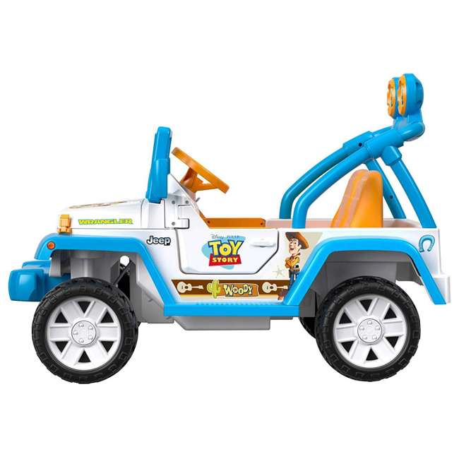FYX48 Power Wheels Disney Pixar Toy Story Kids Electric 12V Car Ride On Jeep Wrangler 2