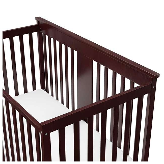 04510-359 + 06711-300 Storkcraft Mission Ridge 4-in-1 Crib in Espresso w/ Mattress 6