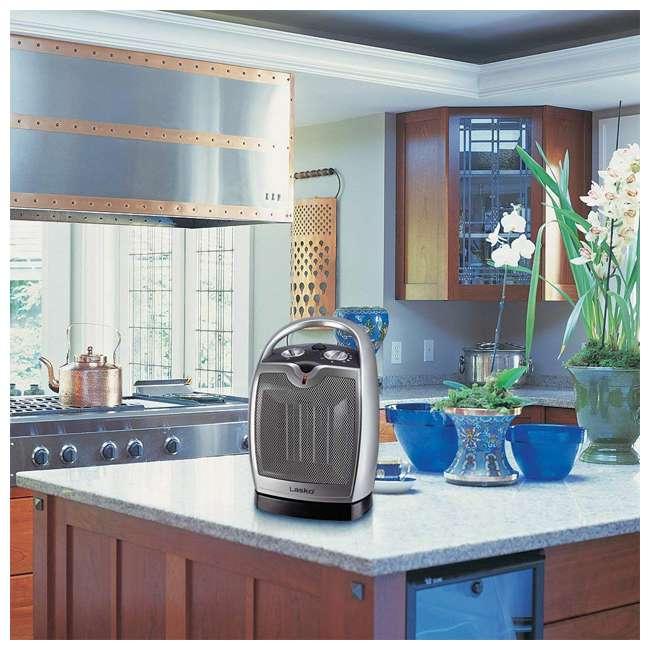 LKO-5409-TN Lasko 5409 Portable Personal Electric 1500W Oscillating Ceramic Space Heater 4