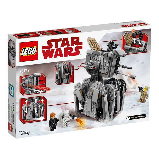 6175745-U-A LEGO Star Wars First Order Heavy Scout Walker 554 Piece Set (Open Box) 4