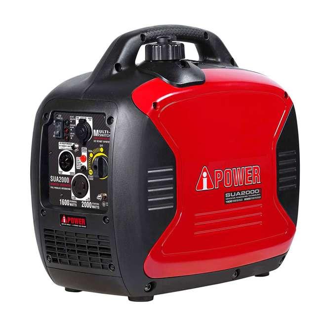 SUA2000i A-iPower SUA2000i Super Quiet 1600-Watt Portable Digital Inverter Gas Generator 1