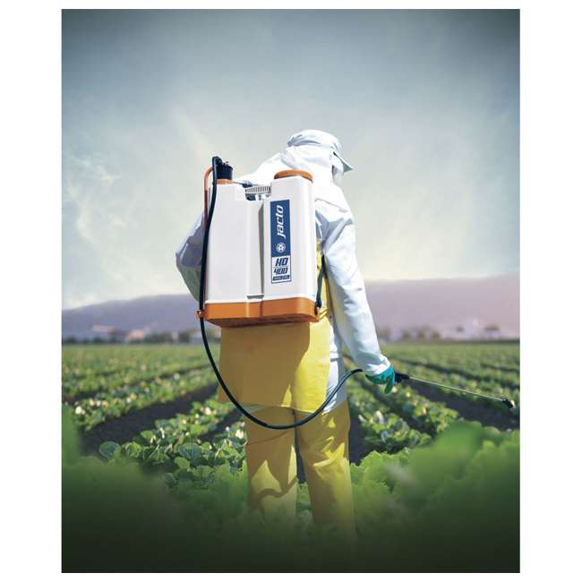 JACTO-1210802-U-A Jacto Right/Left Hand Operation 4 Gallon Chemical Backpack Sprayer (Open Box) 3