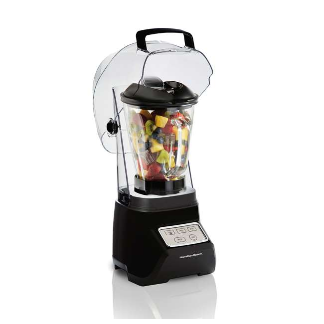 53603 Hamilton Beach 53603 Sound Shield 950 Watt 52 oz Countertop Blender Mixer, Black 3