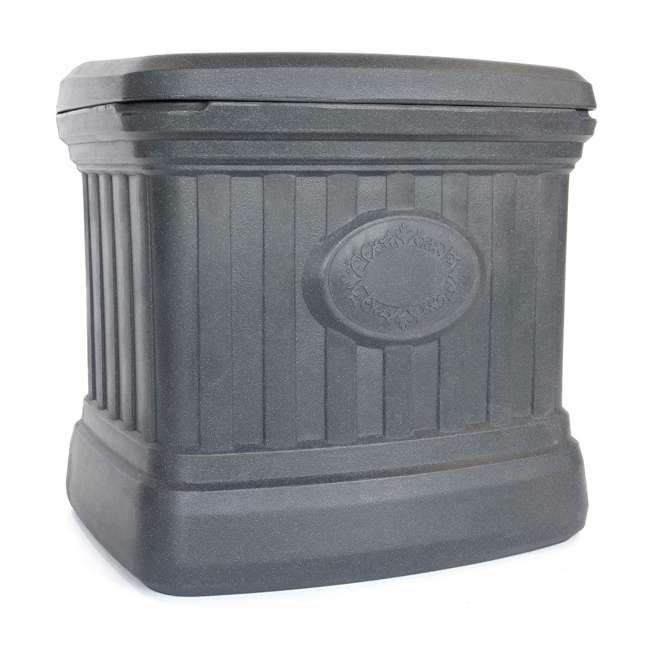 SB120-GRY-S FCMP Outdoor SB120-GRY-S 20 Gal. Sand, Salt, Ice Melt Outdoor Storage Bin, Gray