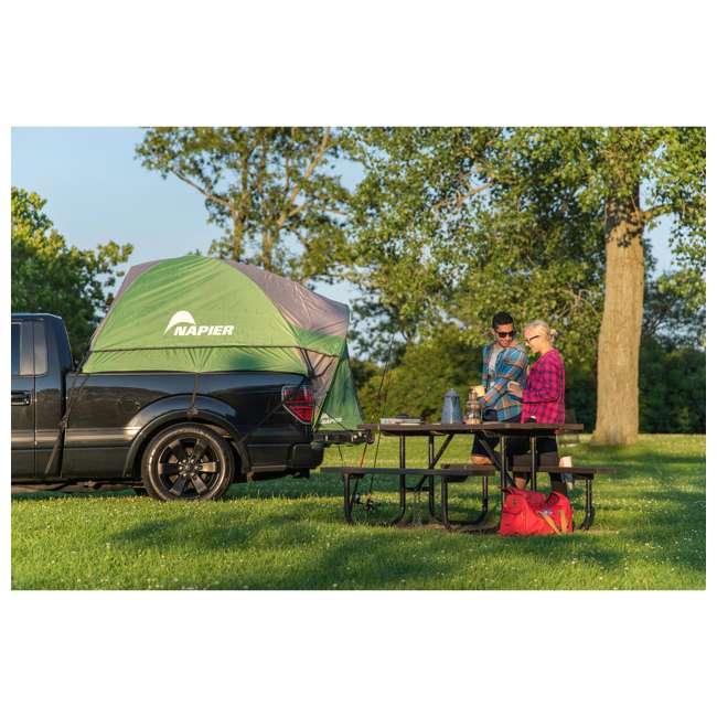 13044 + PPI PV202C Napier Backroadz Truck Bed Tent & AirBedz Air Mattress, Full 4