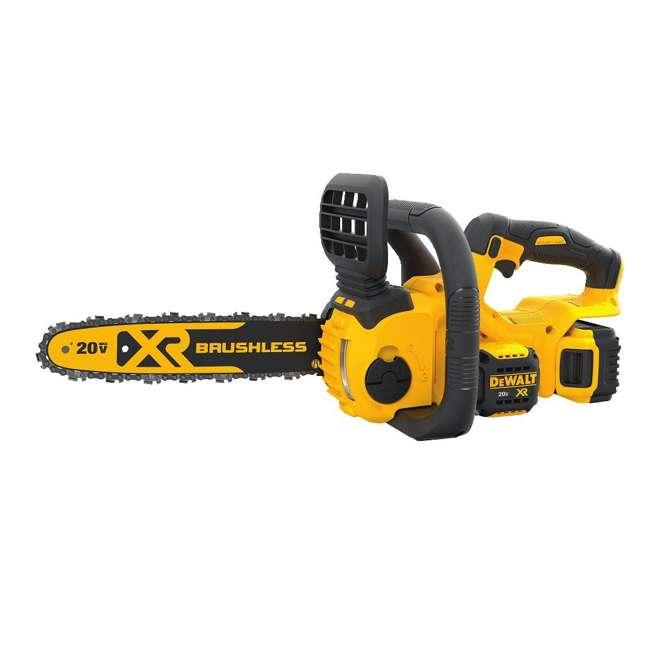 DEWALT-chainsaw-DCCS620B DEWALT 20V MAX Lithium-Ion XR Compact 12 in. Cordless Chainsaw (Tool Only)