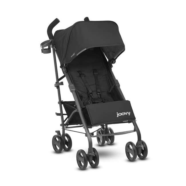 JVY-8127 Joovy Groove Ultralight Compact Canopy Umbrella Stroller, Black
