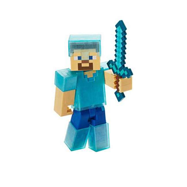 FCW12 Mattel Minecraft Wither Warfare Action Figures Toy Multipack (2 Pack) 3