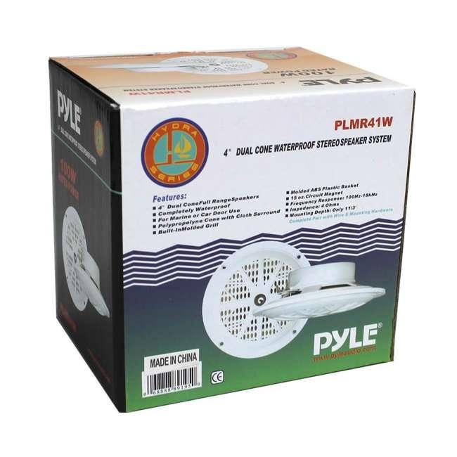 PLMR41W Pyle PLMR41W 4-Inch Marine/Car Speakers 4