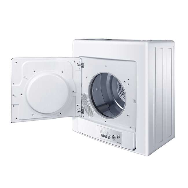HLP141E Haier 2.6 cu. ft. Compact Electric Vented Dryer and Electronic Controls (Used) 3
