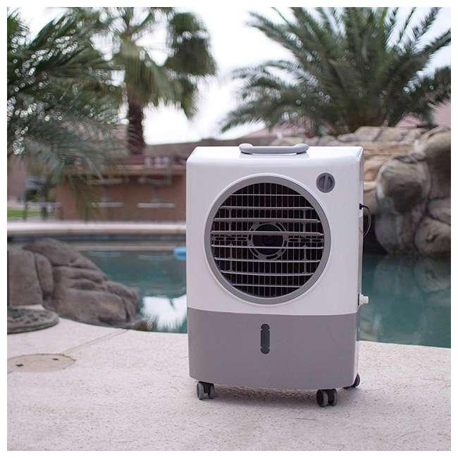 MC18M Hessaire MC18M Indoor/Outdoor Portable 500 Sq Ft Evaporative Swamp Air Cooler 9