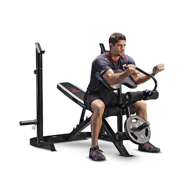 Marcy Standard Classic Workout Weight Bench Md879 Md 879