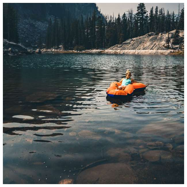 14LDBl01C Klymit 14LDBl01C LiteWater Dinghy Packraft for Kayakers and Packrafters, Orange 5
