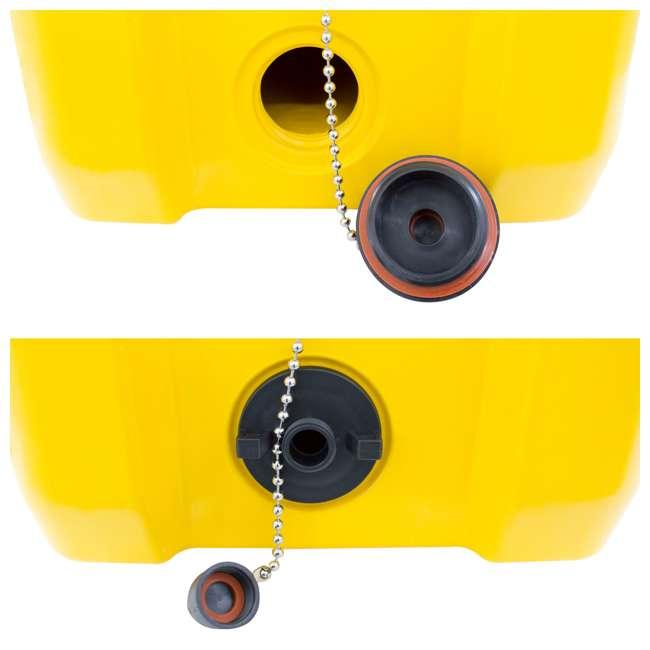 DXC45QT DeWalt 45 Quart Insulated Lunch Box Portable Drink Cooler, Yellow 1