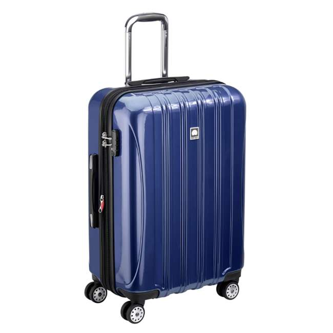 "07647BD DELSEY Paris Aero 25"" Lightweight Hardside Expandable Rolling Travel Bag, Blue 1"