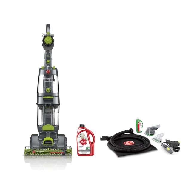 FH51200 + AH30320NF Hoover Dual Power Pro Deep Carpet Cleaner & Stain Remover