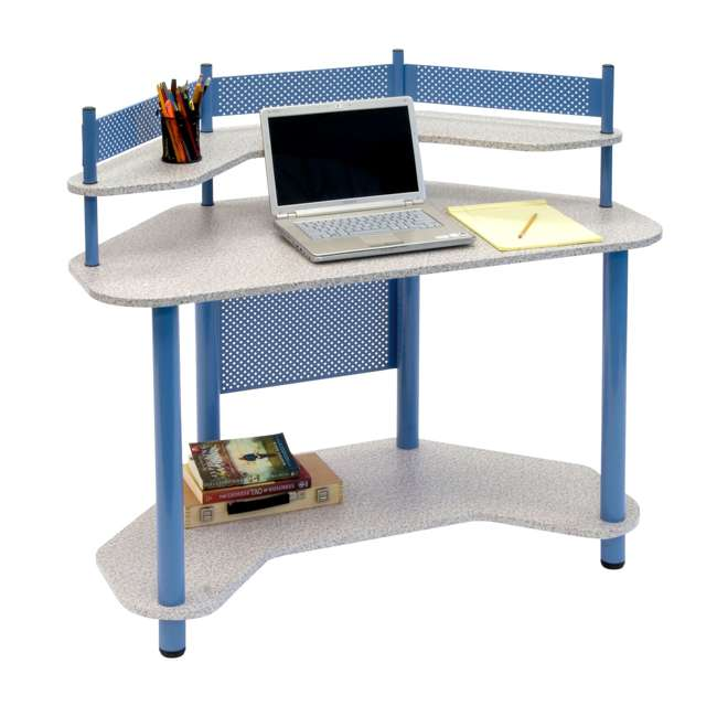 Studio Designs Study Corner Desk, Blue (2 Pack) : STDN-55120
