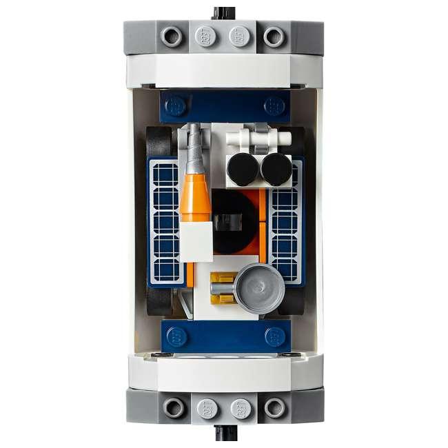 6251738 LEGO City Rocket Assembly & Transport 1055 Piece Building Kit w/ 7 Minifigures 8