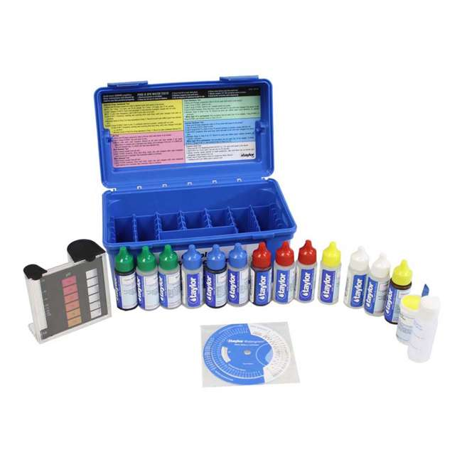 K2006C + K1000 Taylor K-2006C Complete Pool Test Kit w/ Additional Kit 2
