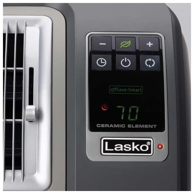 LKO-CC24841-TN Lasko CC24841 Portable Digital Cyclonic Ceramic Space Heater with Remote Control 5