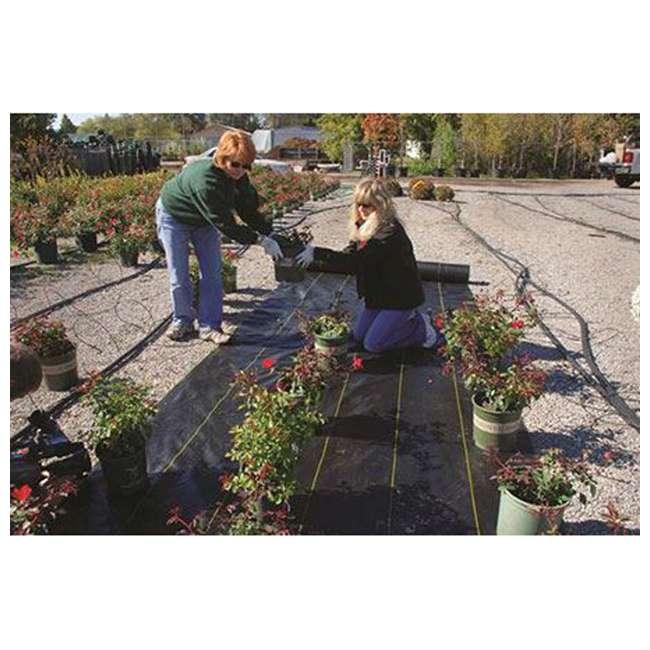DWT-SB4100 DeWitt Sunbelt Woven Weed Control Garden Landscape Fabric Ground Cover, 4x100 Ft 5