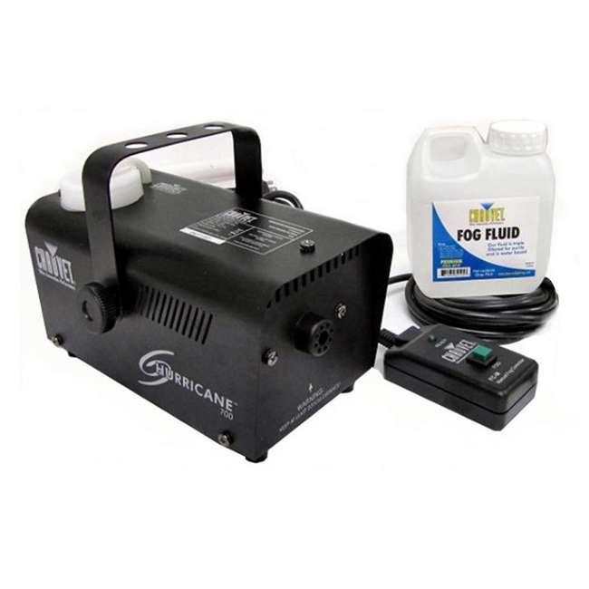 H1600 + H700 + FJU CHAUVET DJ Hurricane 1600 Fog Machine + Hurricane H700 Fog Machine + Fog Juice 8