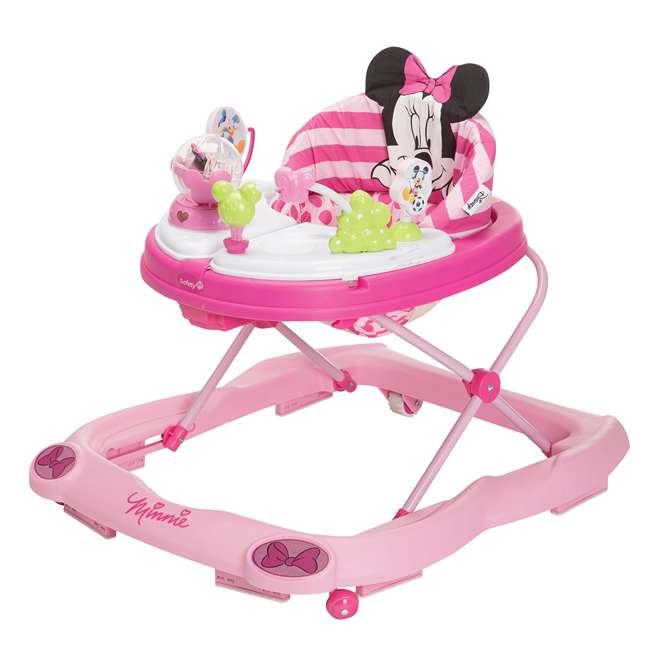 WA067CMH Disney Minnie Mouse Music and Lights Walker, Glitter Pink Minnie