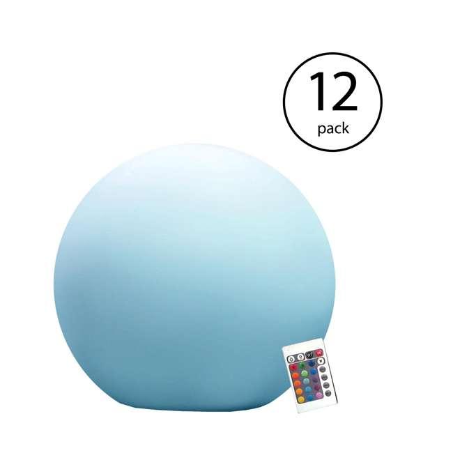 12 x 131793 Main Access Illuminate Orbit LED Ball (12 Pack)