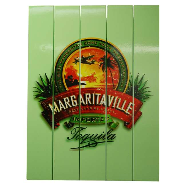 4 x RIOPSSR120-MV Margaritaville Outdoor Tequila Beach Sign, Green (4 Pack) 1