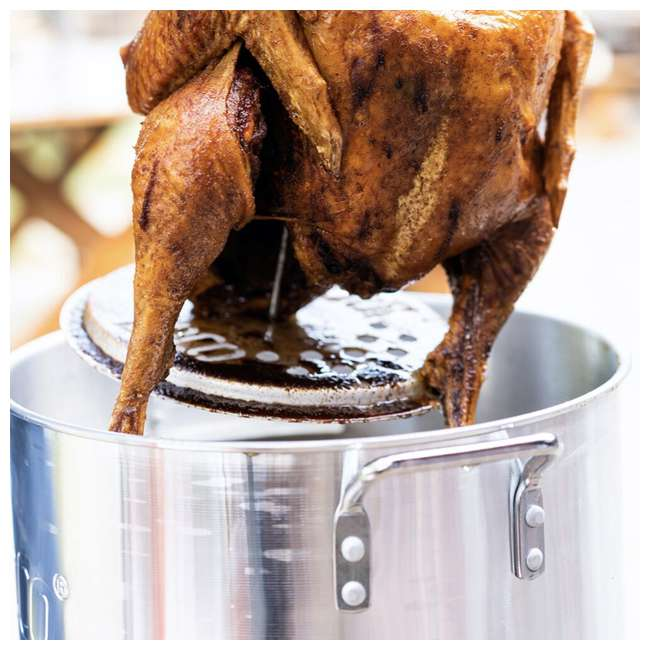 LCPTFK36 LoCo Cookers LCPTFK36 Stainless Steel 36 Quart Outdoor Propane Turkey Fryer 5