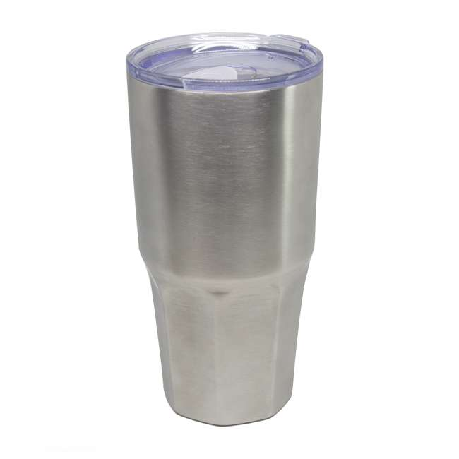 TUMBLER-L30oz-SS Insulated 30-Ounce Travel Tumbler, Stainless Steel 1