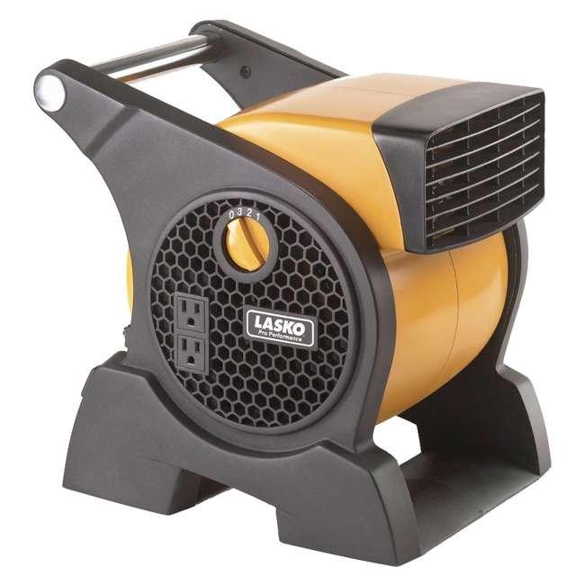 LKO-4900-TN-U-A Lasko Performance 3 Speed High Velocity Utility Blower Fan, Yellow (Open Box)