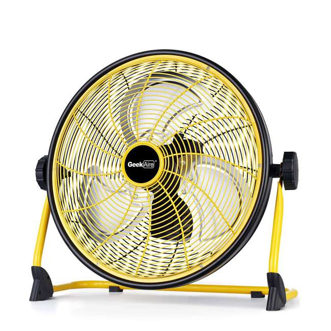 CF2 Geek Aire CF2 Outdoor Floor Fan 16 Inch Variable Speed Rechargeable (2 Pack) 1