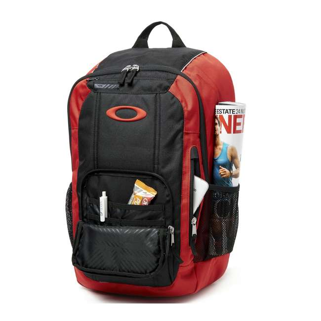 92988-465 Oakley Enduro 25-Liter 2.0 Backpack, Red & Black 2