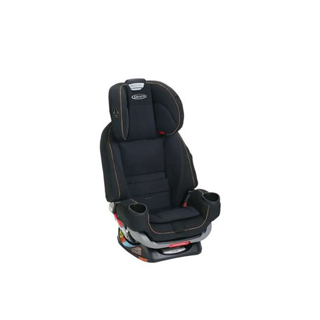 2047648 Graco 4Ever Extend2Fit 4 In 1 Rear & Front Facing Car Seat Booster Combo, Hyde 5