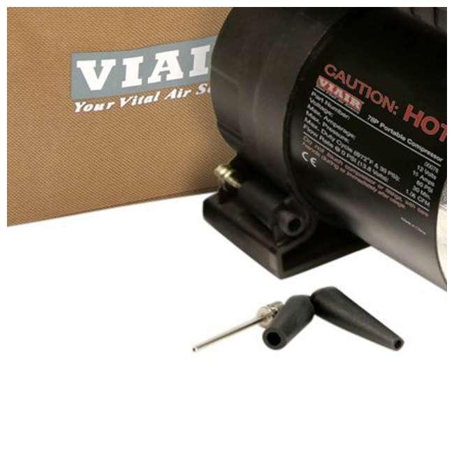 6 x 00078 Viair 78P 80PSI 1.06 CFM Vehicle Tire Air Compressor Kit (6 Pack) 4