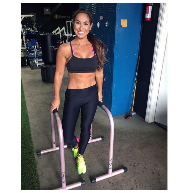 LFI-EQ-ROSEGOLD Lebert Fitness Natalie Jill Total Body Strengthener Steel Equalizers, Rose Gold 1