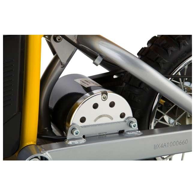 15165070 + 97775 + 96785 Razor MX650 Dirt Rocket Electric Moto Bike with Helmet, Elbow & Knee Pads 9