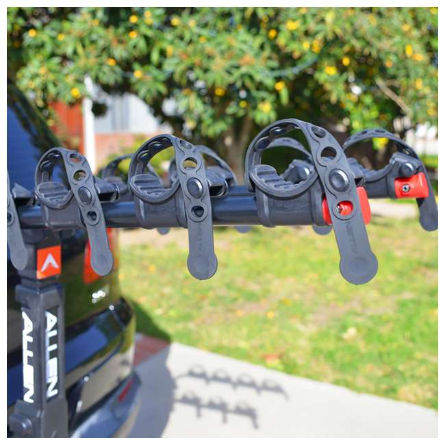 QR545-U-C Allen Sports 4 Bike 2 Inch Hitch Carrier Car Rack with Powder Coating(For Parts) 4