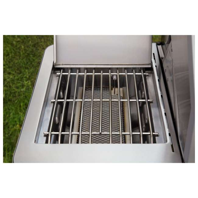 MG-35633 Monument Grills Clearview Lid 4 Burner w/Side Sear Burner Propane Grill (2 Pack) 5