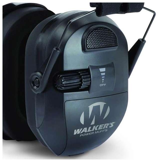 GWP-XPMB-RB Walkers Electronic Ultimate Power Ear Muffs (Certified Refurbished) 3